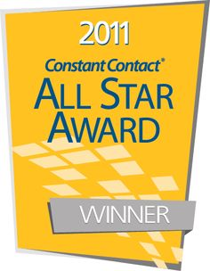 The Networking Advocate Is pleased to announce that we have been awarded the Constant Contact 2011 All Star Award  for the Second Year in a row.  We would like to thank our Subscribers and Strategic Partners for their support. We are about to celebrate our 5th anniversary and it couldn't come at a better time. Constant Contact says only 10% of their customer base receive this award each year. Winning this award 2 consecutive times is a tribute to our supporters.