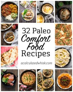 32 Paleo Comfort Food Recipes for Winter