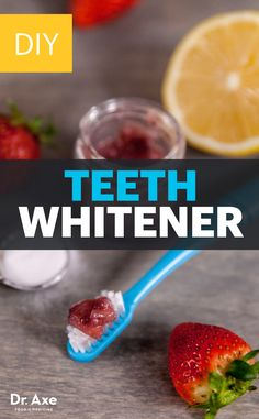 Rather than use chemicals to get your smile back, try this homemade teeth whitener recipe.