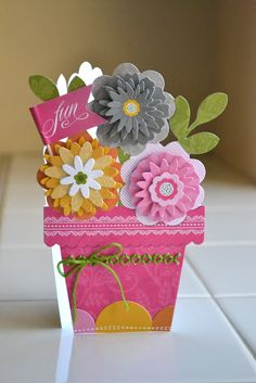 it happened like this...: anna griffin blomma card kit