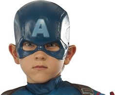 Avengers 2 Age of Ultron Child's Captain America Molded Mask >>> Check this awesome product by going to the link at the image.