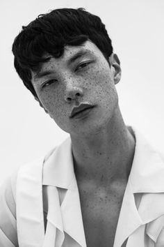 Emile at One Management NYC shot by Ben Abarbanel and styled by Elizabeth Vaccaro, in exclusive for Fucking Young! Male Model Face, Asian Male Model, Male Models, Human Reference, Photo Reference, Portrait Inspiration, Character Inspiration, Face Study, Boy Face