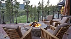 Martis Camp Bar Terrace - Love the view of the 18th!