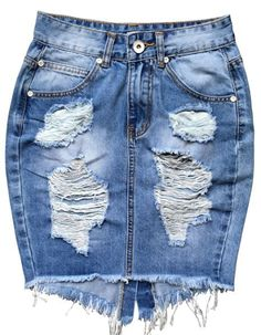 Most ways to put on a denim dress will be determined by your personal style, but this straightforward posh style. Vintage Denim, Vintage Skirt, High Waisted Denim Skirt, High Waist Jeans, Summer Outfits Women, Sexy Outfits, Trendy Outfits, Fashion Outfits, Skirt Mini