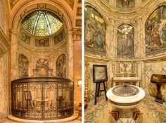 Surprising Tiffany Decorations at St. St Ignatius, Mosaics, Barcelona Cathedral, Tiffany, Decorations, Building, Construction, Mosaic, Dekoration