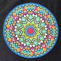 Multicolor Geometric Handmade African Zulu Telephone Wire Basket/Plate - Kwanzaa #BlackFolkArt