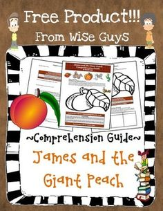 FREE James and the Giant Peach Reading Comprehension Activity Guide!
