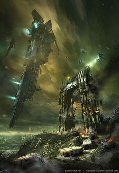 Killzone 3 Concept Art by Jesse van Dijk