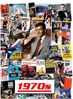 Six Decades of James Bond - The 1970s ROGER MOORE