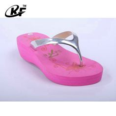 1c76be240 High Heel Pink Custom Ladies Flip Flop Slippers Customized Available