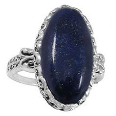 Sterling Silver Ring with Lapis Lazuli BTSNRB5213LP  Size 10 -- Details can be found by clicking on the image.(This is an Amazon affiliate link)
