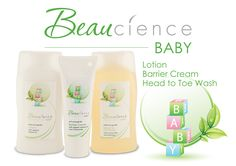 The Beaucience Baby products all contain natural and organic ingredients to offer babies skin gentle and kind protection.