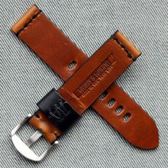 Now that's an elegant leather watch strap!