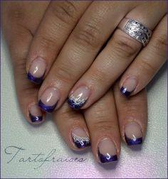 Love the purple tips :)