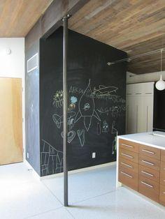 Porch | Chalkboard Wall - DeForest Architects