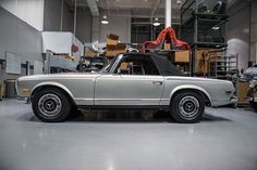 Pagoda Tuesday in the workshop.  #mbclassic #icon #art #pagoda #280sl #w113 #preserved #original #preservation #timeless #lifestyle #carporn #cargram