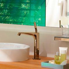 Axor Citterio E - basin tap in Rose Gold