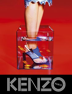 Loving this whole campaign! Kenzo S/S 2014 Ad Campaign With Paul Boche & Devon Aoki By Pierpaolo Ferrari