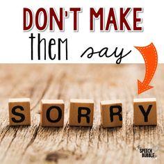 Don't Make Them Say