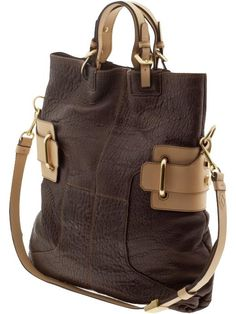 oversized tote with great details #love #purses