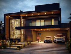 Minimal House Design, Modern Small House Design, Modern Exterior House Designs, Modern House Facades, Modern Villa Design, Latest House Designs, Bungalow House Design, Modern Architecture House, House Outside Design
