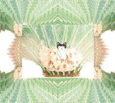 Tropical Cat - by NUÉ