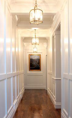 High gloss hallway