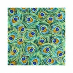 Ready to decorate with peacocks? Find some beautiful peacock fabric to turn anything into a peacock themed item. If you love to sew or create...