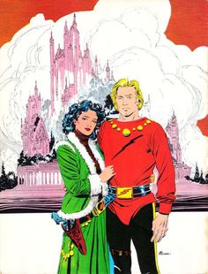 Flash Gordon art by AL Williamson