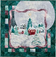 All of McKenna Ryan's Christmas and Holiday Themed Applique Quilt Patterns Magic In The Moonlight, Applique Quilt Patterns, Applique Ideas, Christmas Quilt Patterns, Landscape Quilts, Quilted Wall Hangings, Small Quilts, Quilting Designs, Landscaping Rocks