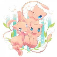 Pokemon Mew, Poke Pokemon, Pokemon Tumblr, Mew And Mewtwo, Pokemon Images, Pokemon Fan Art, Pikachu, Pokemon Stuff, Cute Pokemon Wallpaper
