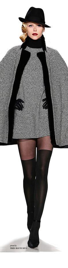 Zang Toi Fall/Winter 2014 (hanımefendi'likle seksi'lik bir arada, harika bir tasarım, deri eldivenler hariç her parça muhteşem)