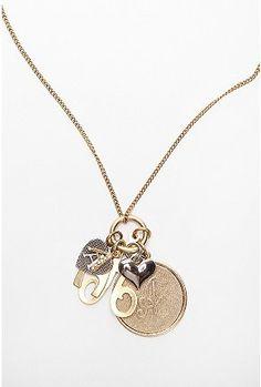 Initial Pendant Necklace $24