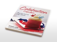 Cover and book design for cookbook by Auckland book designer The Fount. For successful book design call for a complimentary consultation. Cookbook Design, Book Cover Design, Books, Celebration, Cupcakes, Libros, Cupcake Cakes, Envelope Design, Book