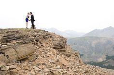 Helicopter Tour - Canoe Wedding - A Mountain Wedding Guide by Orange Girl