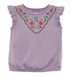 Infant Embroidered Tee