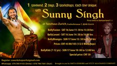 Sunny Singh Workshop Zuerich 2018