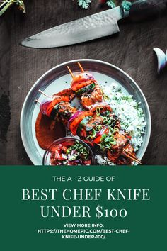 For everyday kitchen tasks,a chef knife is one vital tool.But high-quality knives have quite an expensive price tag.Right here, we covered 10 best chef knife under 100 you can find. Best Chefs Knife, Best Budget, Chef Knife, Kitchen Knives, The 100, Ethnic Recipes, Food, Essen, Meals