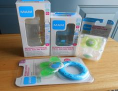 Enter to Win a Surprise Box of Goodies for Baby from MAM BABY on TwoClassyChics Ends 3/22 #Giveaways #ad