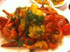 Lobster with ginger and green onions at The Perfect Kitchen in Mississauga...delicious!