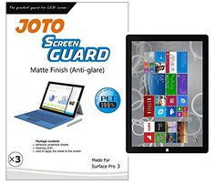 Nice JOTO Screen Protector Film Guard for Microsoft Surface Pro 3 Tablet (12 inch, 3rd generation), Anti Glare, Anti Fingerprint (Matte Finish) with Lifetime Replacement Warranty (3 Pack) Check more at http://techreviewsite.com/index.php/product/joto-screen-protector-film-guard-for-microsoft-surface-pro-3-tablet-12-inch-3rd-generation-anti-glare-anti-fingerprint-matte-finish-with-lifetime-replacement-warranty-3-pack/