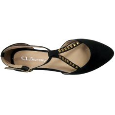CL By Laundry Brandee Black Vegan Studded Flat Shoes. Faux suede pointy vegan shoes perfect for evening. Sale $39.20.
