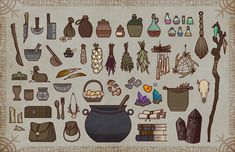 Assorted props, Cameron McCarthy
