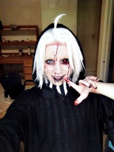 Seidou Takizawa ||| Tokyo Ghoul: Re Cosplay by senju-swag on Tumblr