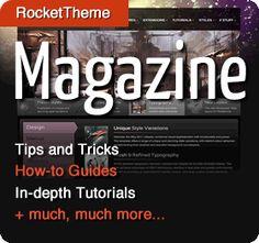 RT Magazine -> Create custom gantry theme