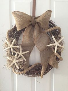 Loving this beach wreath by Kismet!!! #shopbm