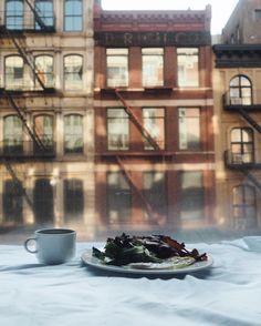 Breakfast w/ a view @theroxyhotelnyc
