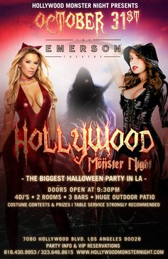 Vamp it Up at the Biggest Dance Party of Halloween Monster Night!