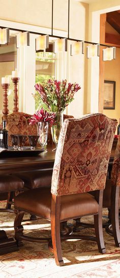 Aspen Lodge Rustic Chairs