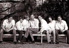 royalsandquotes:  Luxembourg Grand Ducal Family-Prince Felix, Prince Sebastien, Grand Duchess Maria-Teresa, Grand Duke Henri, Prince Louis, Princess Alexandra, Prince Guillaume